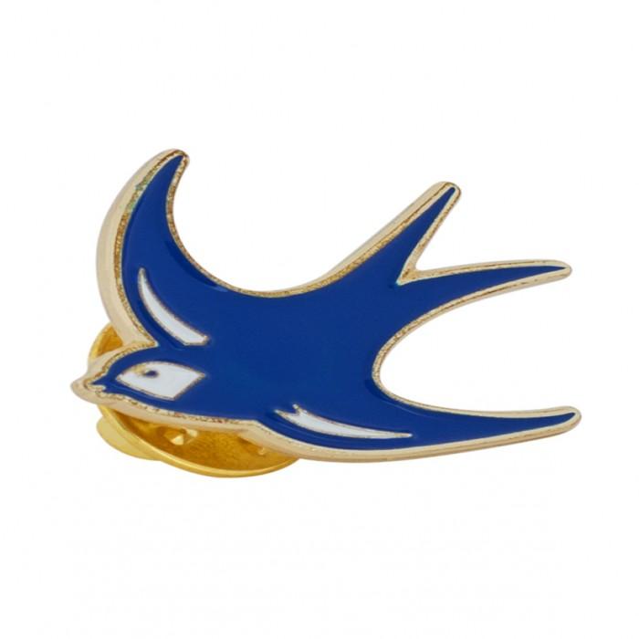 BLUEBIRD PIN BADGE