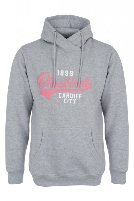 LADIES BLUEBIRDS GREY HOODIE