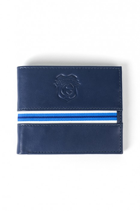 STRIPE LEATHER WALLET