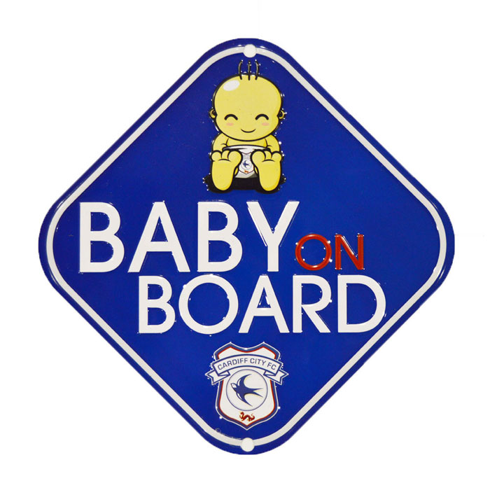 METAL BABY ON BOARD