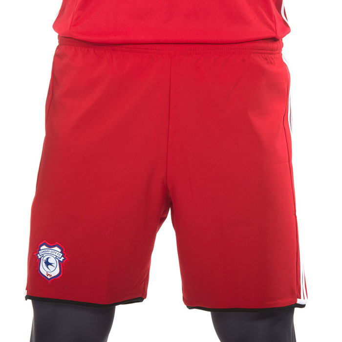 RED THIRD SHORTS