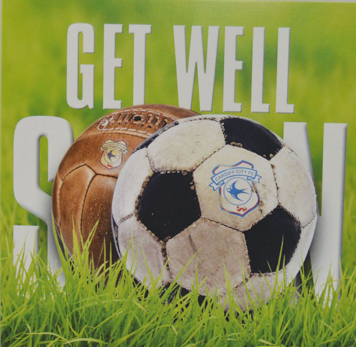 GW01 GET WELL BALL CARD